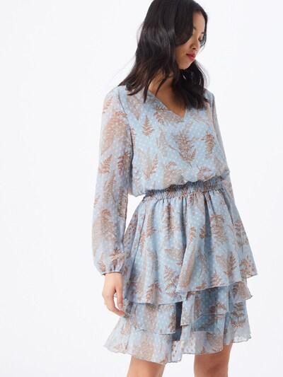 SISTERS POINT Kleid 'NICOLINE-V3' in blau, Modelansicht