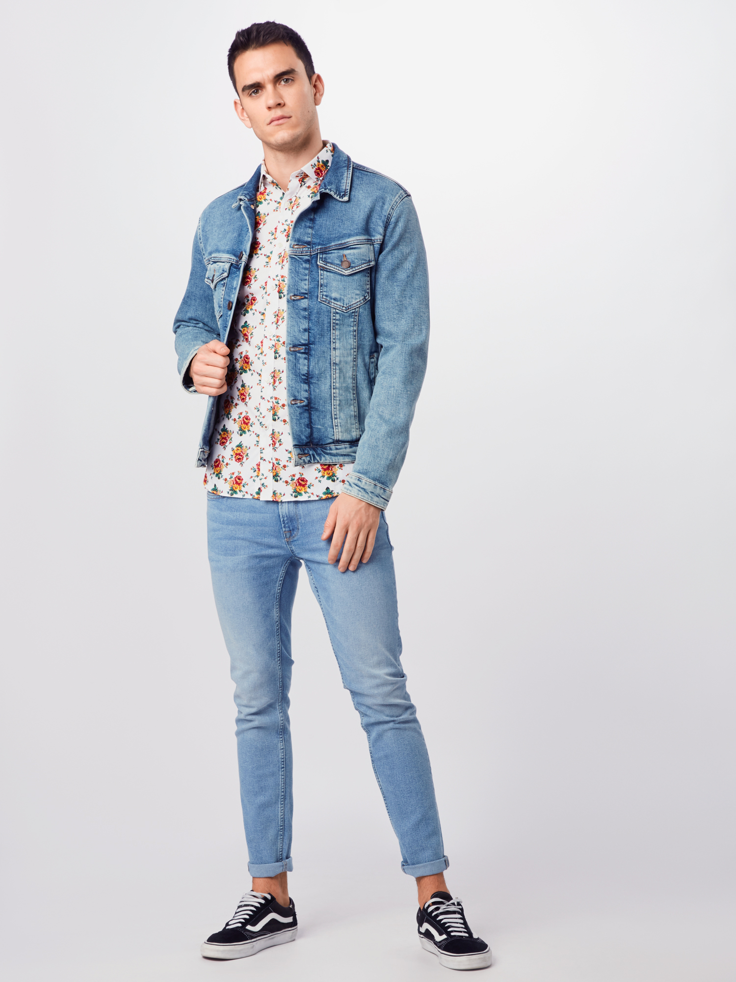 JACK & JONES Overhemd in Rood / Wit 8qxudSap