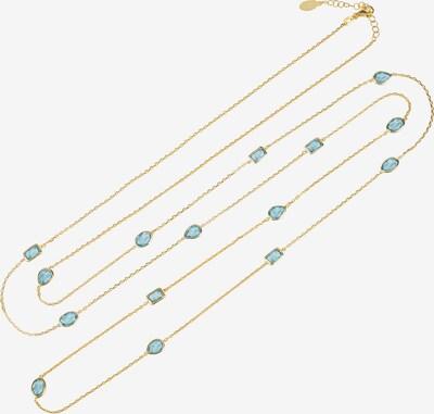 Latelita Kette in blau / gold, Produktansicht