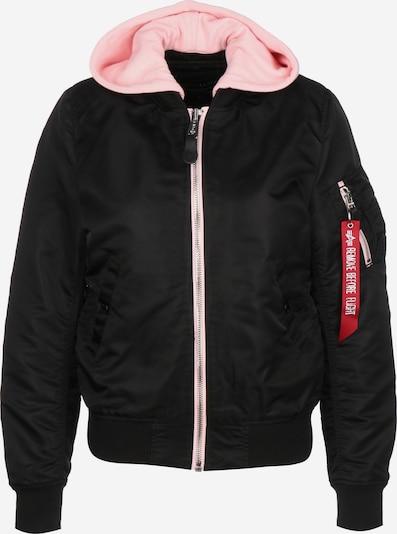 ALPHA INDUSTRIES Between-Season Jacket ' MA-1 TT Hood W ' in Light pink / Black, Item view