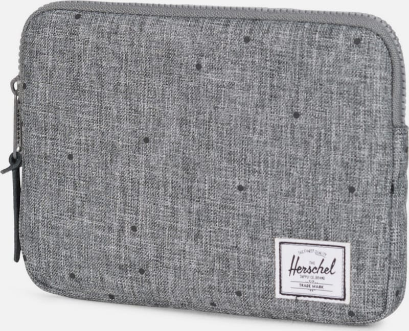 Herschel Tablet Tasche 'Anchor Sleeve, iPad mini, Scattered Raven, Crosshatch'