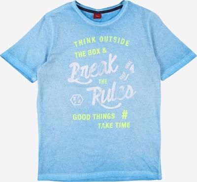 s.Oliver Shirt in aqua, Produktansicht
