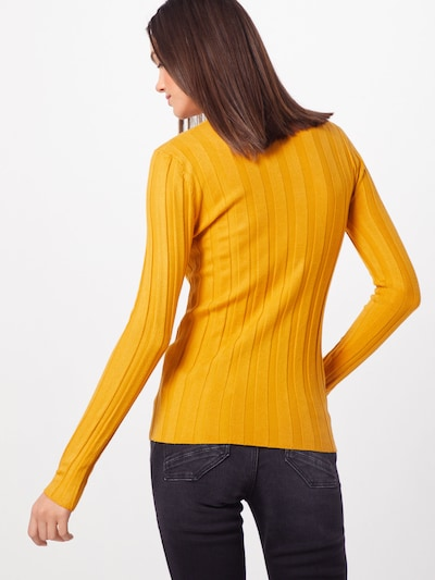 SISTERS POINT Pulover 'Hotti-T1' | rumena barva: Pogled od zadnje strani