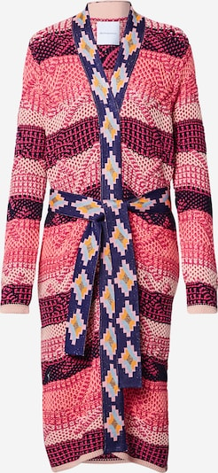 DELICATELOVE Strickmantel 'Hailey' in pink, Produktansicht