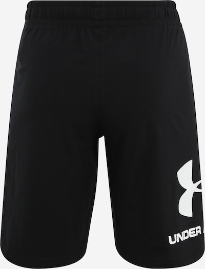 UNDER ARMOUR Sportshorts in schwarz / weiß, Produktansicht