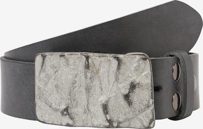 RETTUNGSRING by showroom 019° Ledergürtel 'Gump' in grau, Produktansicht