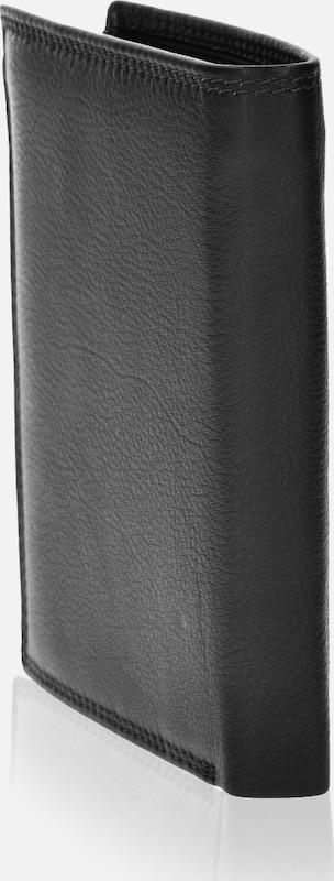 SAMSONITE Geldbörse Hochformat 78020 mit Klappfach und Reißverschlussfach Leder 10,5 cm