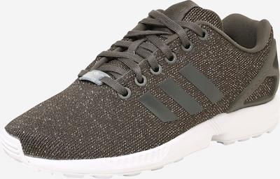 ADIDAS ORIGINALS Sneaker 'ZX Flux W' in dunkelgrün / naturweiß, Produktansicht