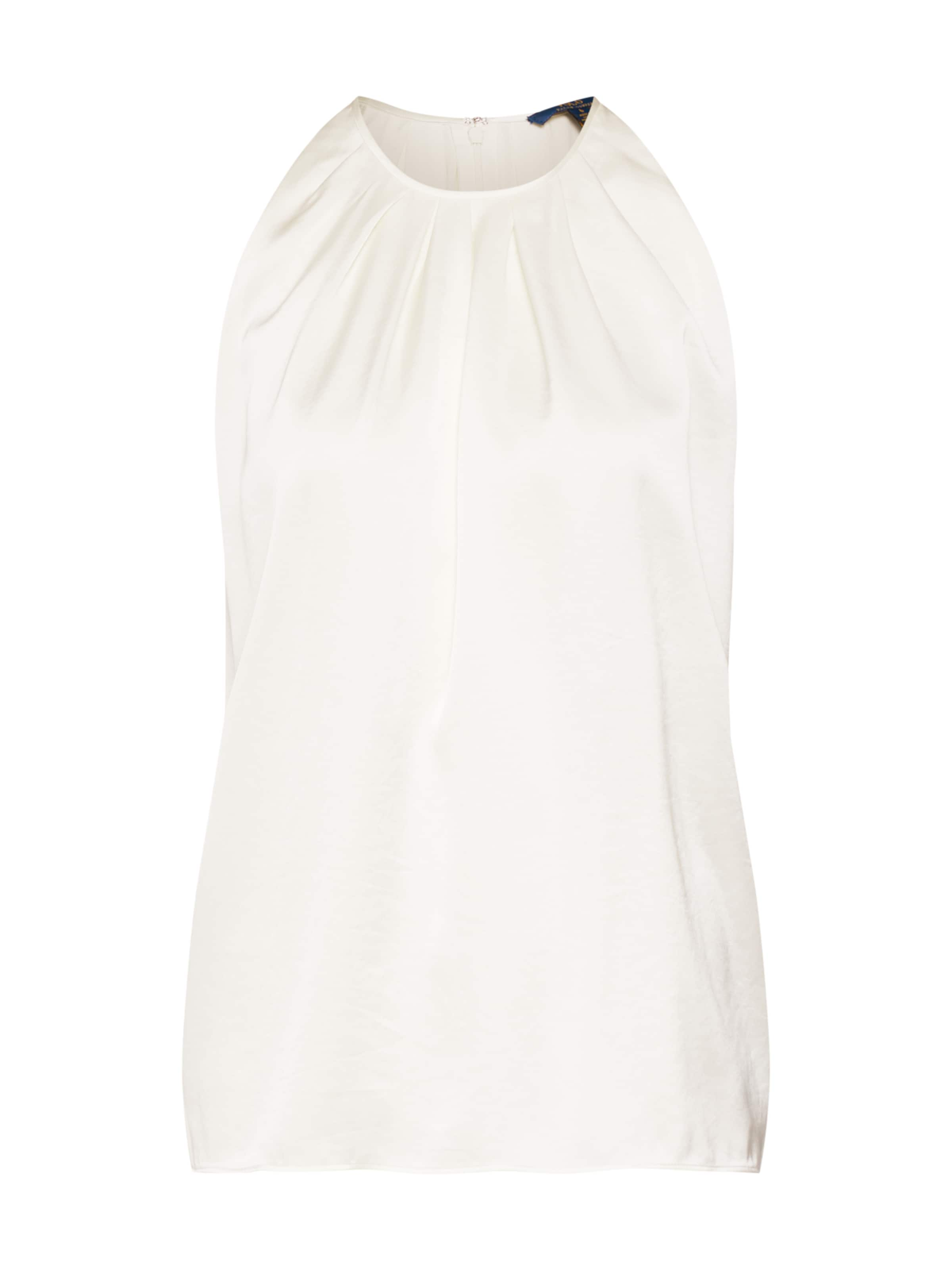 Creme Polo shirt' Ralph In Mrlo Lauren Shirt 'sl Tp sleeveless ARjL3cqS45