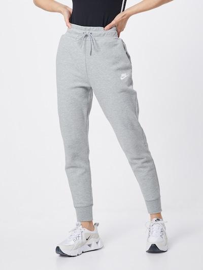 Nike Sportswear Kalhoty - šedá, Model/ka