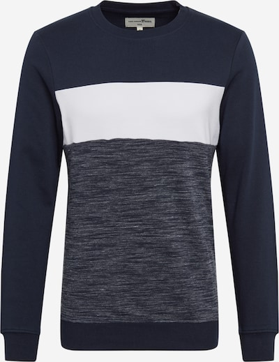 TOM TAILOR DENIM Sweatshirt in blaumeliert, Produktansicht