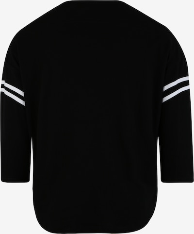 fekete / fehér Urban Classics Curvy Póló: Hátulnézet