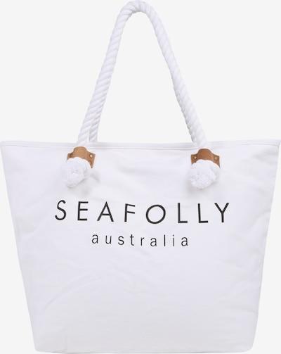 Seafolly Strandtasche in weiß, Produktansicht