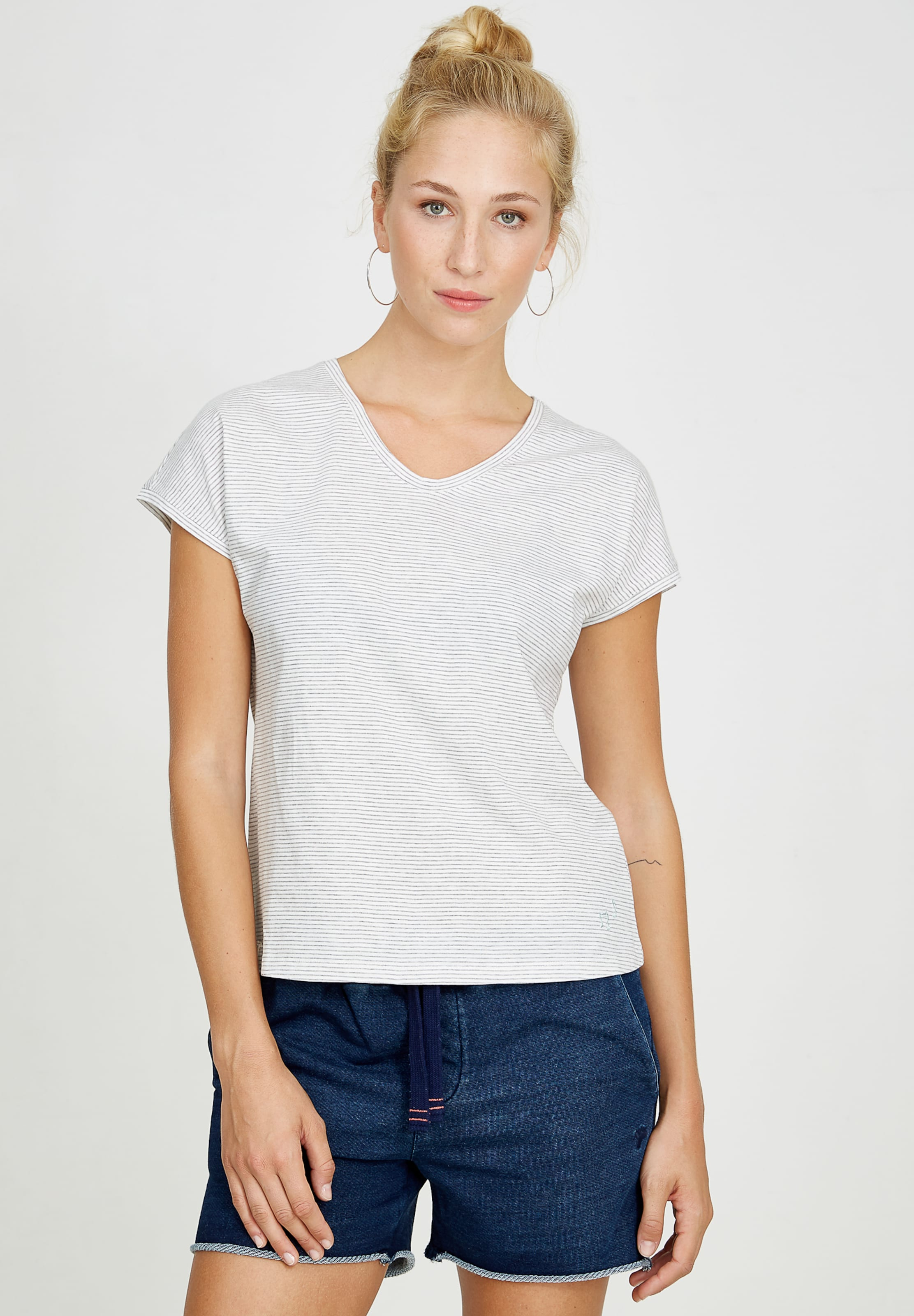 shirt V neck T Recolution Weiß In Nnmw08