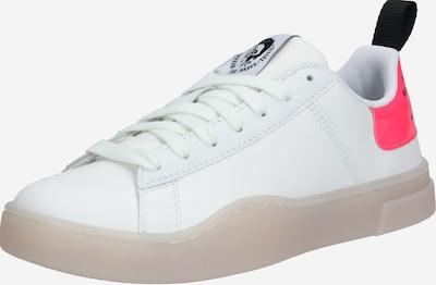 DIESEL Sneakers laag 'CLEVER S-CLEVER' in de kleur Pink / Wit, Productweergave