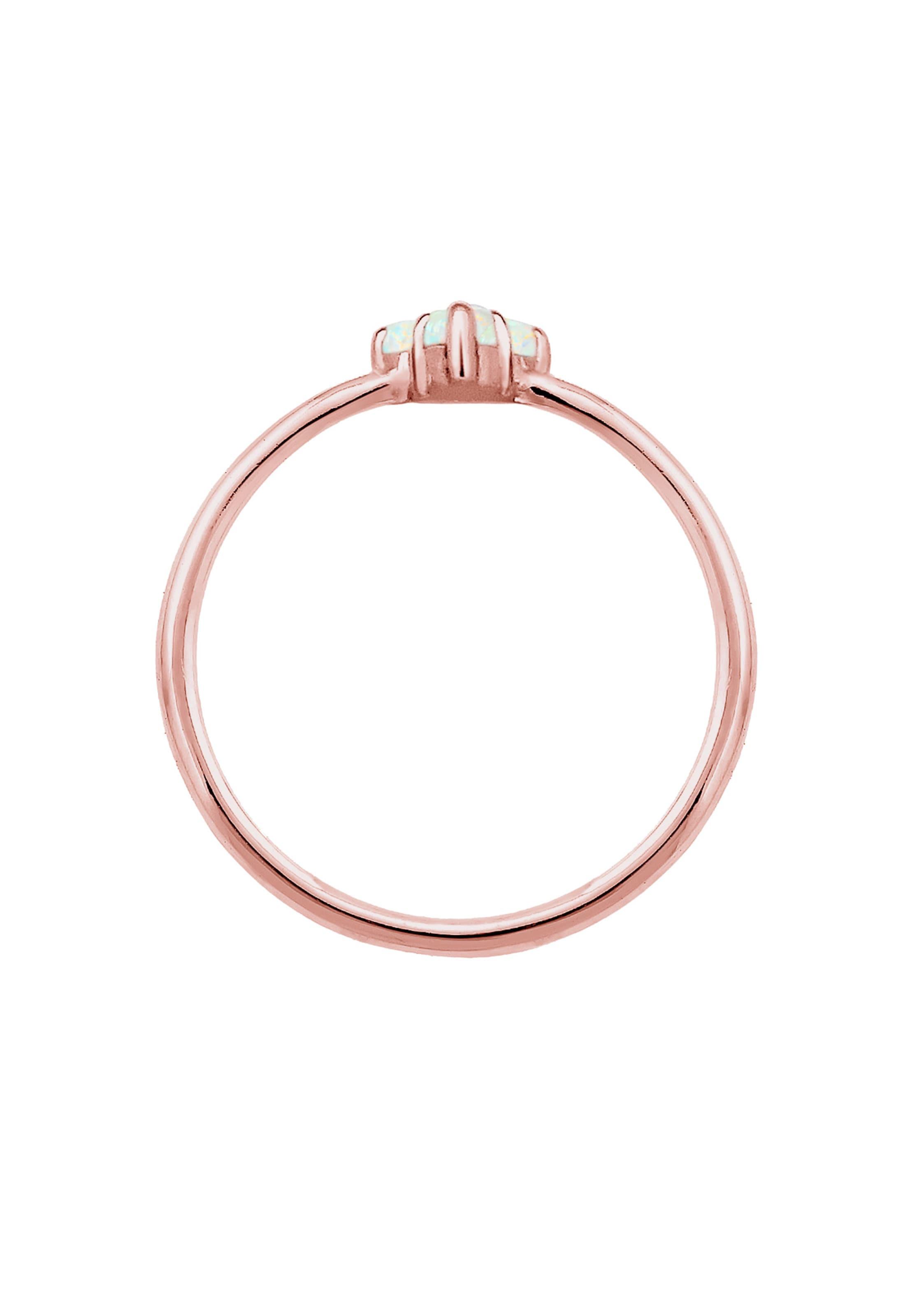 Elli OpalRosegold Ring 'opal' Ring In Elli ZiuPXk