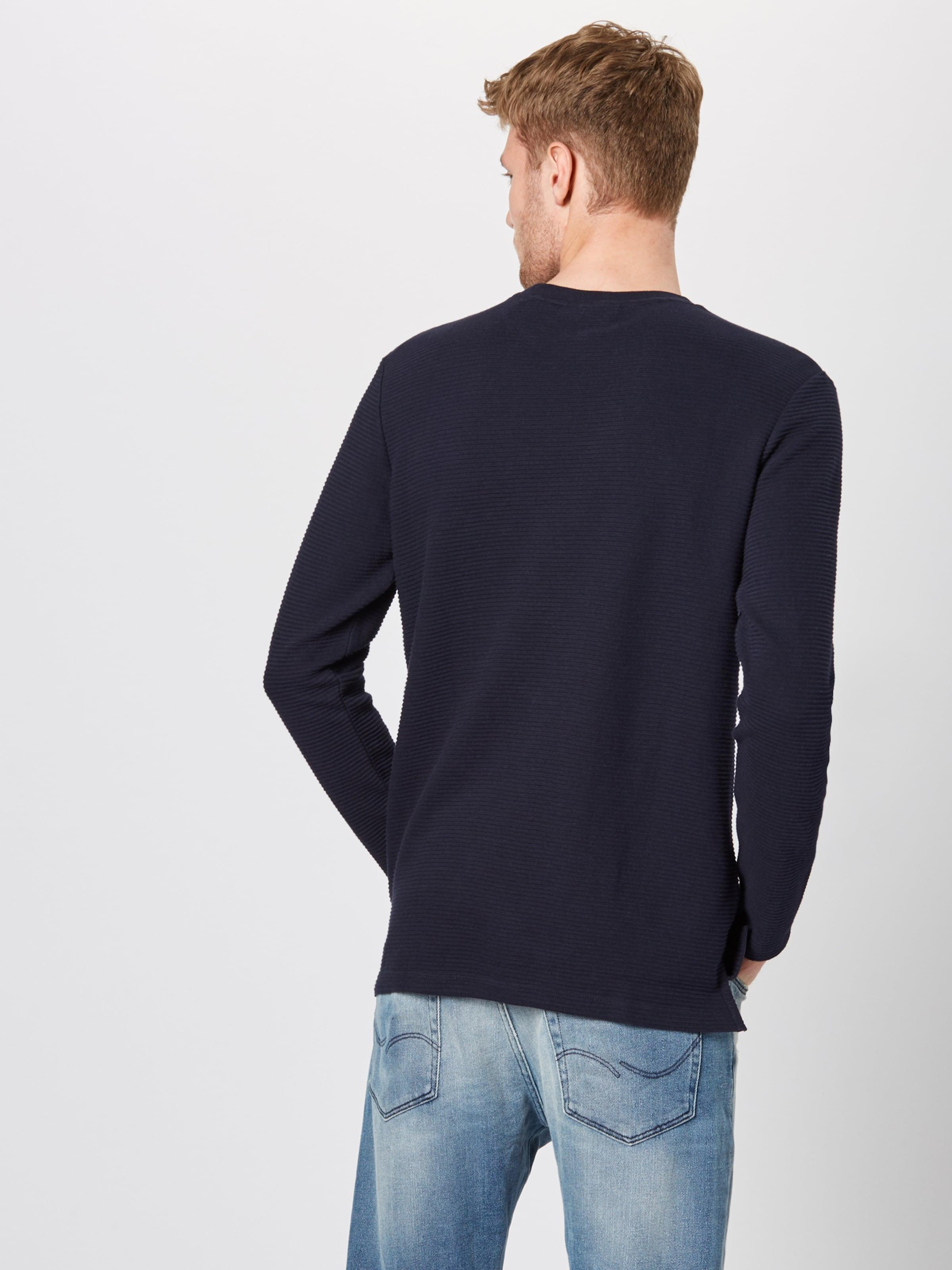 Marc In Nachtblau O'polo Denim Sweatshirt XwiPZuOTk