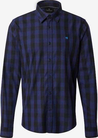 SCOTCH & SODA Hemd in blau / graumeliert / schwarz, Produktansicht