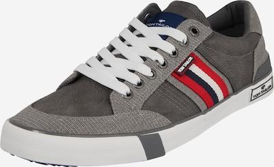 TOM TAILOR Sneaker in grau / weiß, Produktansicht