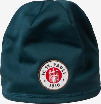 UNDER ARMOUR Beanie 'FC St. Pauli Element 3.0 B' in petrol / mischfarben, Produktansicht