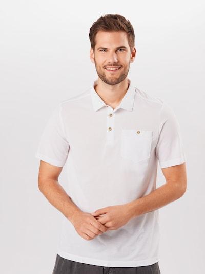 CRAGHOPPERS Sportshirt 'Gilles' in weiß: Frontalansicht