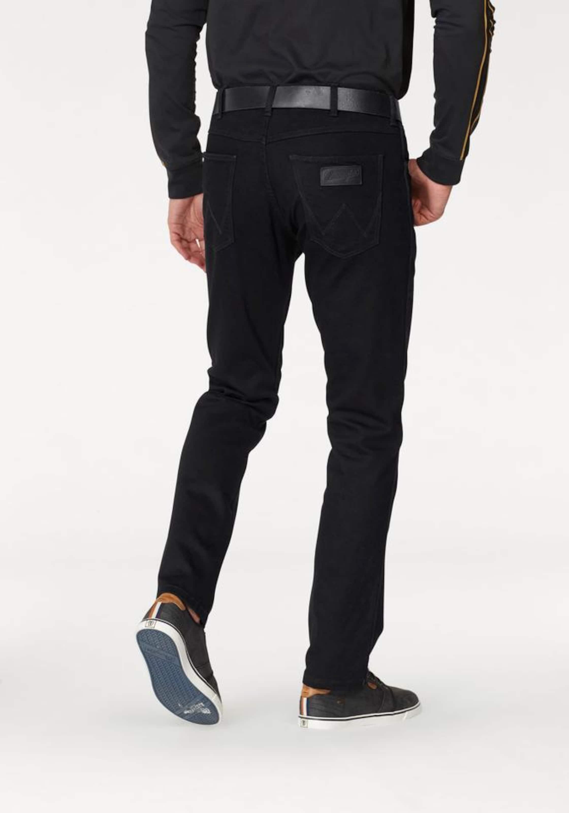 jeans 'greensboro' Stretch Schwarz In Wrangler y76bgYf