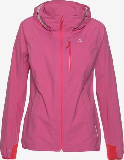 Schöffel Regenjacke 'NEUFUNDLAND' in pink, Produktansicht