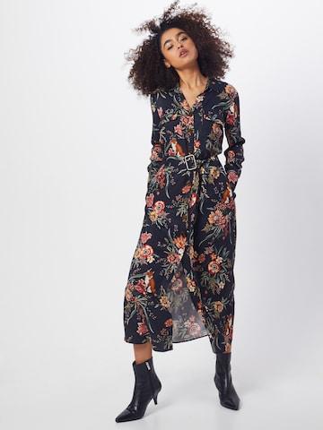 Mavi Avondjurk 'Printed Dress' in Zwart