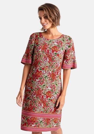 Uta Raasch 'Kleid mit 1/2-Arm' in mischfarben, Modelansicht