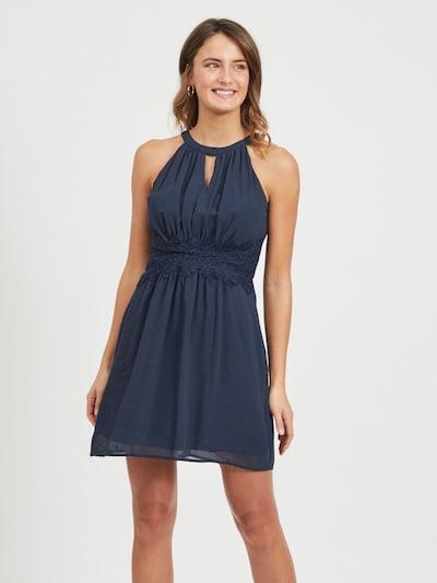 VILA Kleid in dunkelblau, Modelansicht