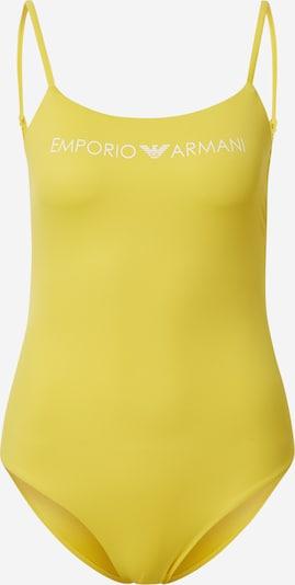Emporio Armani Maillot de bain en jaune, Vue avec produit