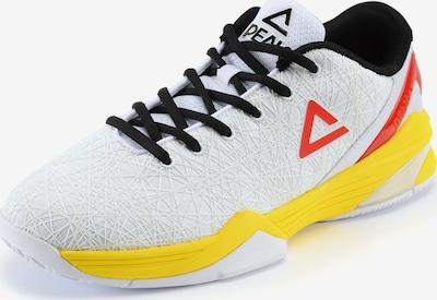 PEAK Basketballschuh 'Delly' in gelb / rot / schwarz / weiß, Produktansicht