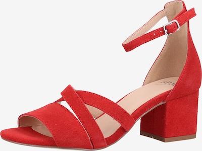 SPM Sandalen in rot, Produktansicht