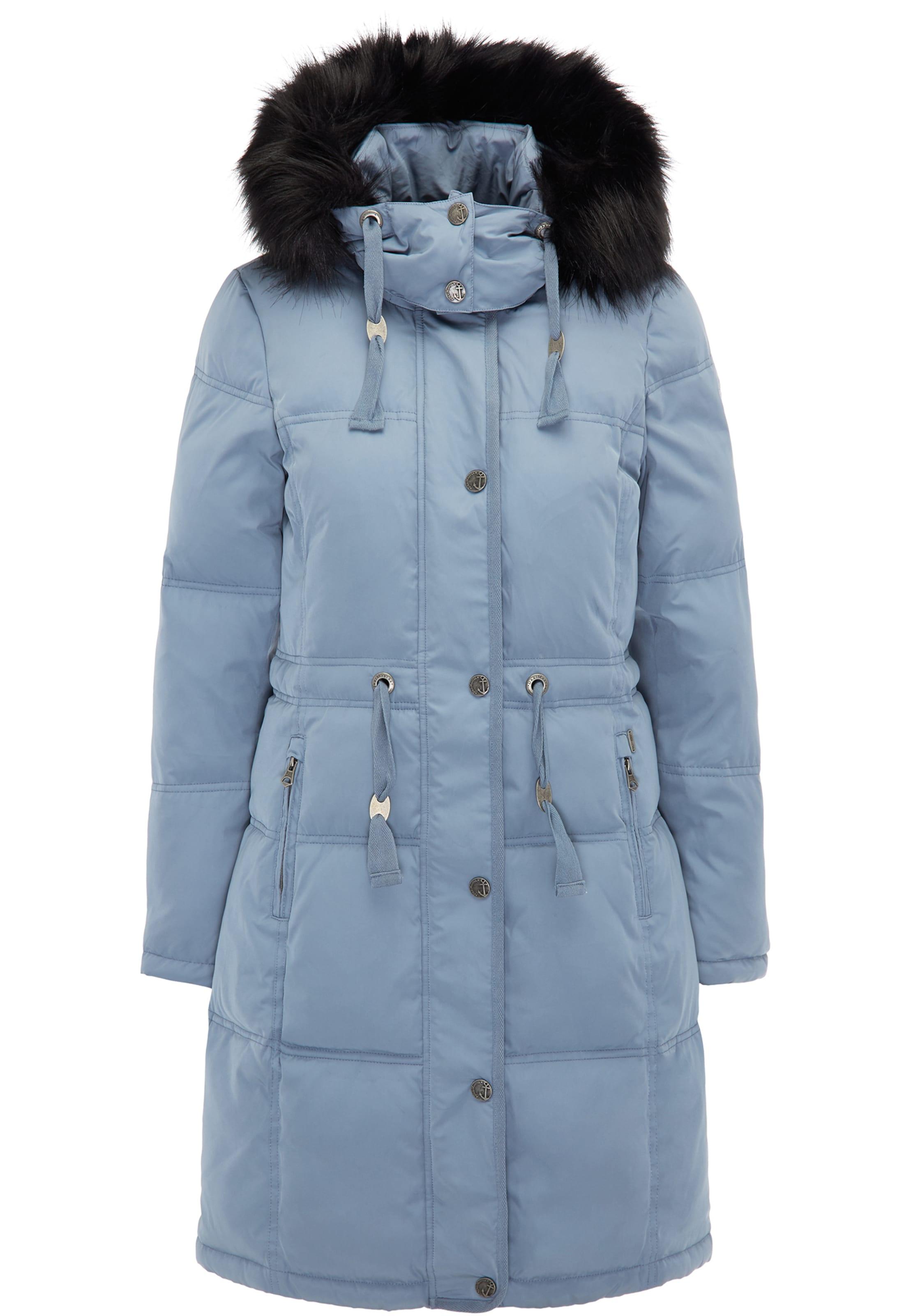 En Bleu Dreimaster D'hiver Manteau Fumé CQrthsd