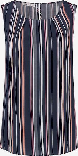 Juna Lane Blusentop in blau / rosa / weiß, Produktansicht