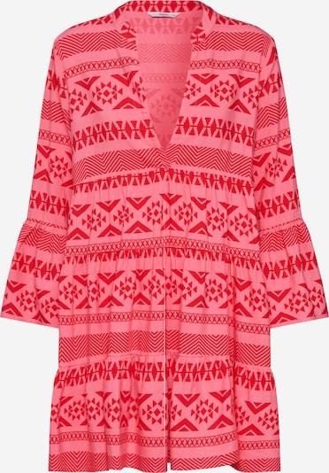 Rochie tip bluză 'LUCCA' ONLY pe roz / roșu, Vizualizare produs