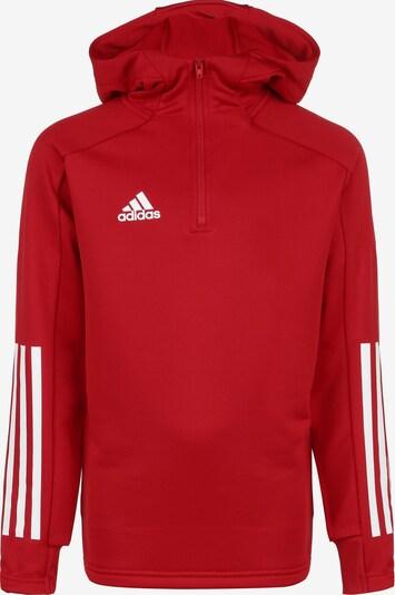 ADIDAS PERFORMANCE Pullover 'Condivo 20' in rot / weiß, Produktansicht