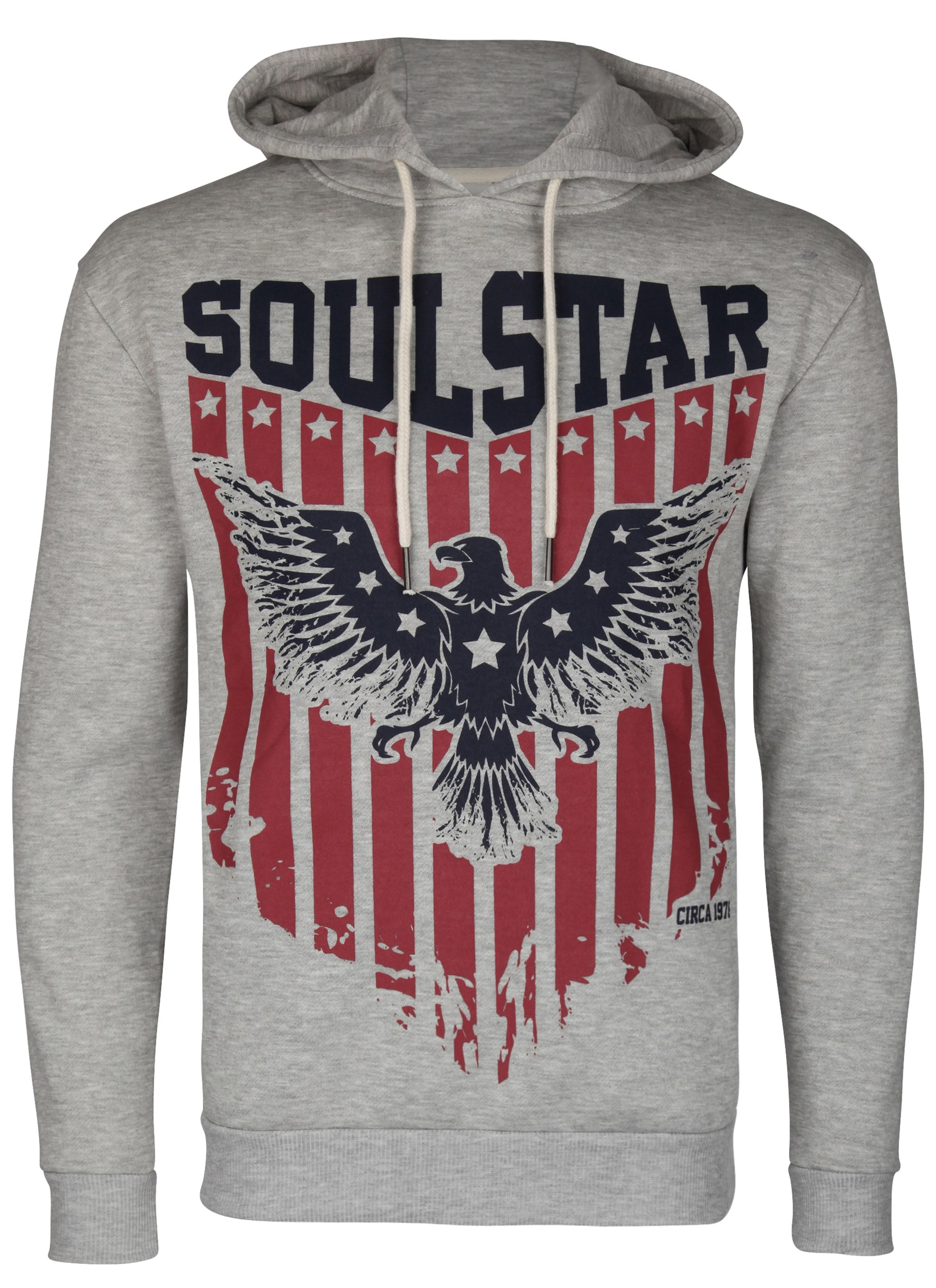 Soulstar En Sweat shirt GrisRouge Noir QxBCoerWd