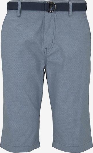 Pantaloni eleganți TOM TAILOR pe albastru / gri, Vizualizare produs