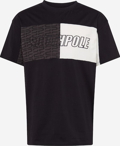SOUTHPOLE Shirt in black / white, Item view