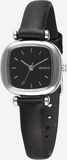 Komono Uhr 'Moneypenny' in schwarz / silber, Produktansicht
