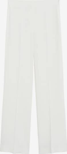 MANGO Hose 'palachin' in beige / weiß, Produktansicht
