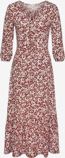 TAMARIS Dress in Rusty red / White, Item view