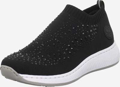 fekete RIEKER Belebújós cipők, Termék nézet