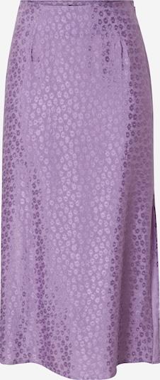Motel Jupe 'tindra' en violet, Vue avec produit