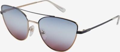 VOGUE Eyewear Sonnenbrille in gold / violettblau / schwarz, Produktansicht
