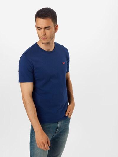 LEVI'S Koszulka 'ORIGINAL HM TEE' w kolorze ciemny niebieskim: Widok z przodu