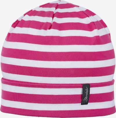 STERNTALER Mütze in pink / weiß, Produktansicht
