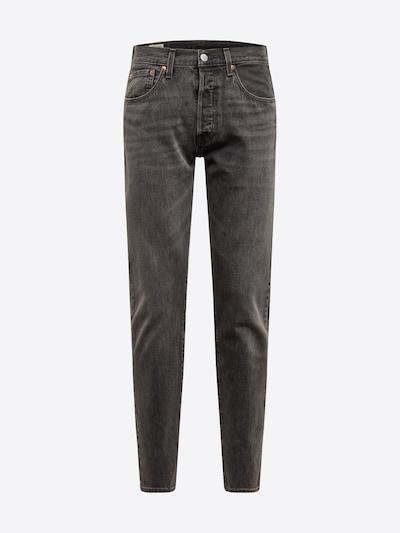 LEVI'S Jeans '501 SLIMTAPER' in de kleur Grey denim: Vooraanzicht