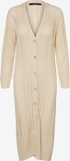 VERO MODA Manteau en tricot en champagne, Vue avec produit